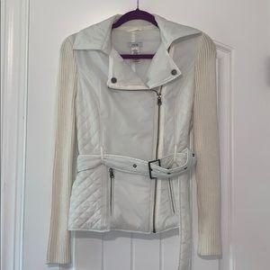 Cache Ivory Puffer Jacket